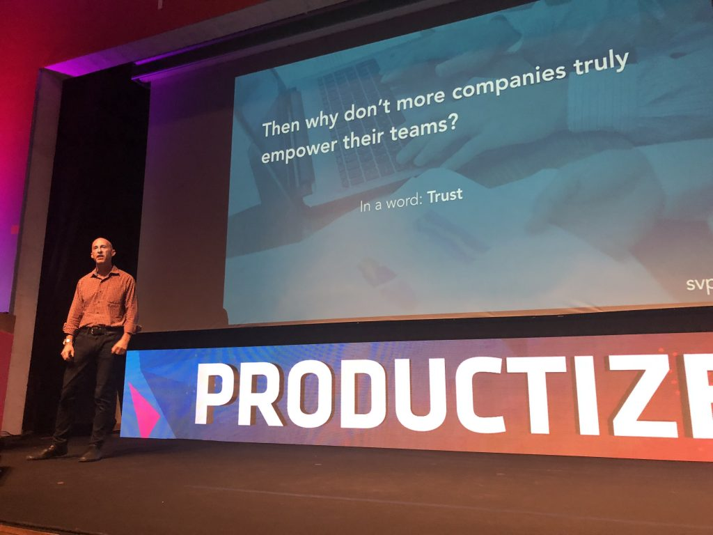 Marty Cagan at the Productized 2018